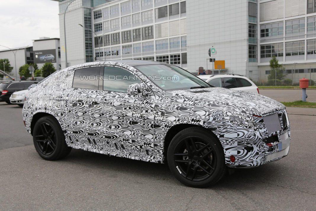 Mercedes-Benz MLC Continues Testing
