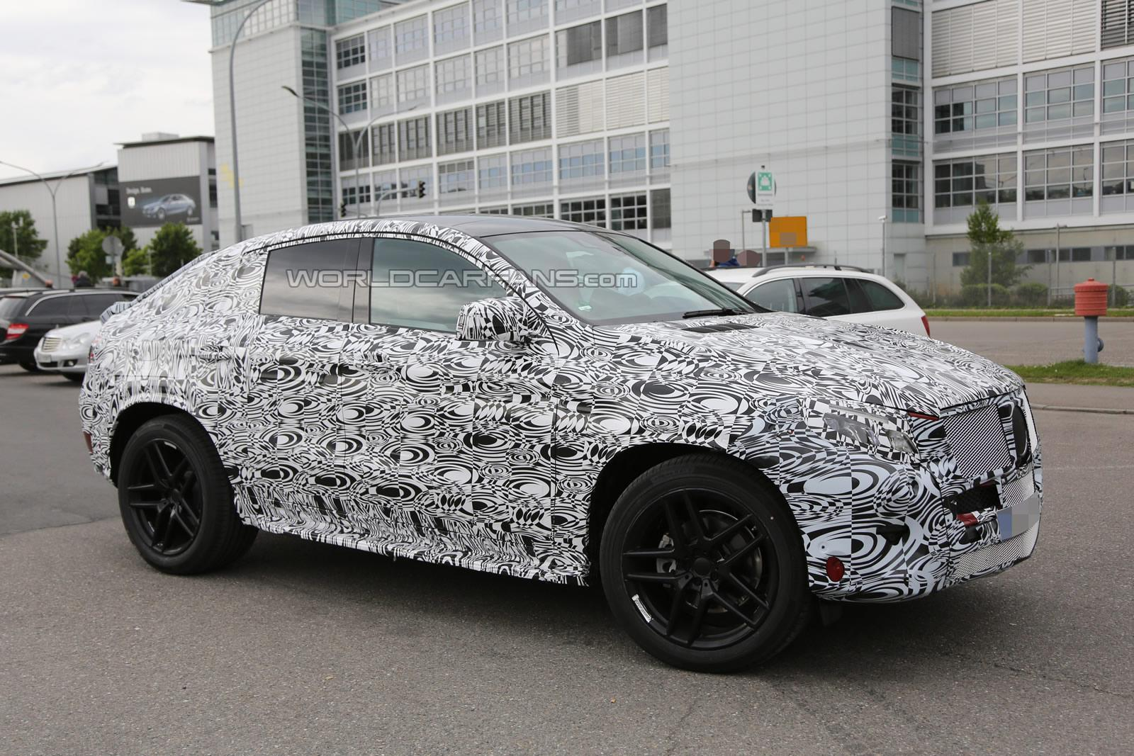 New Mercedes Benz Suv Could Be Dubbed Ml Coupe Gtspirit