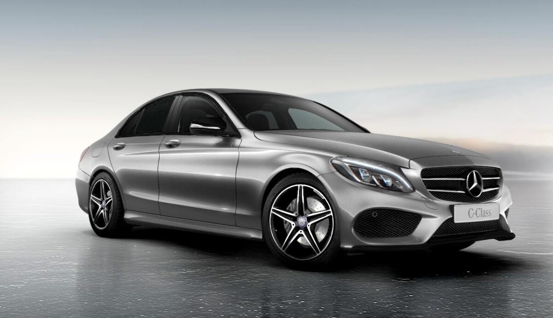 Official mercedes benz c class night package gtspirit for Black mercedes benz c class