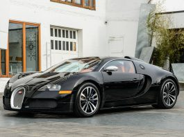 Drake's Bugatti Veyron Sang Noir Hits the Used Car Market