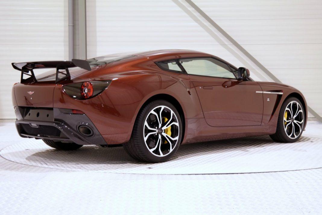 For Sale: Unique Bronze 2014 Aston Martin V12 Zagato