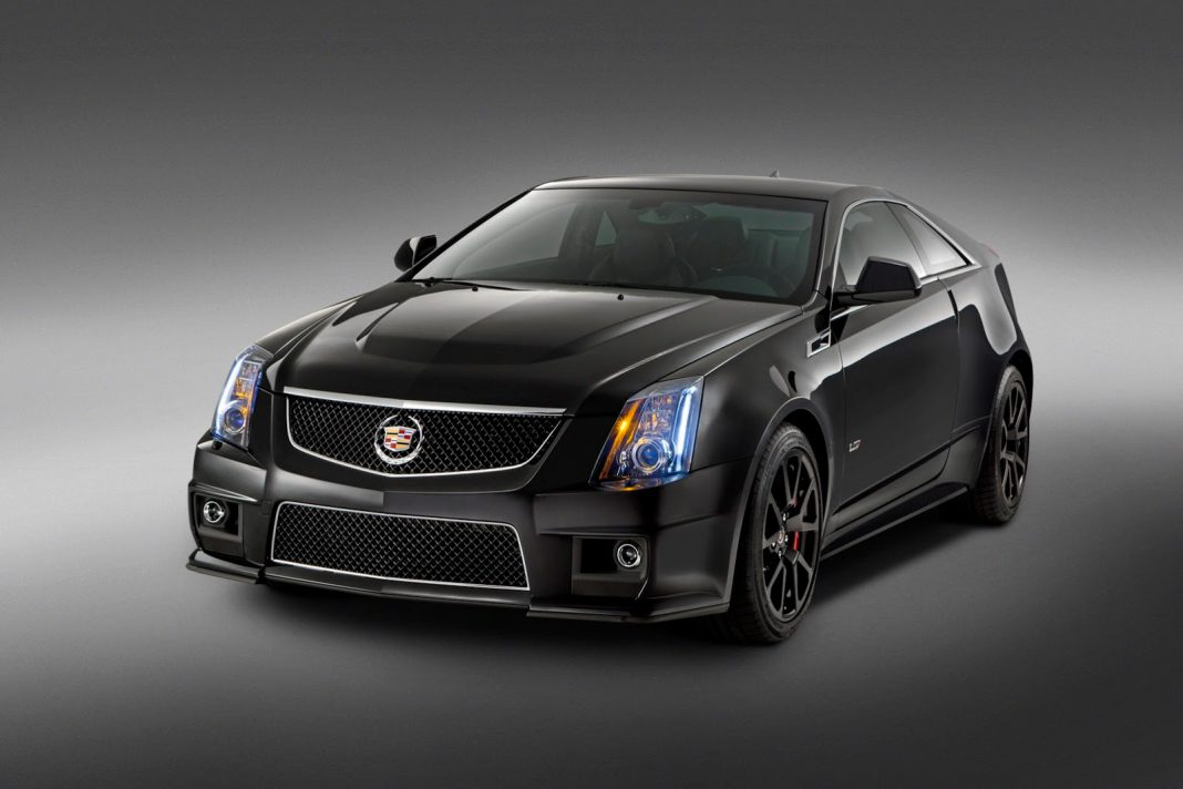 Official: 2015 Cadillac CTS-V Coupe Special Edition