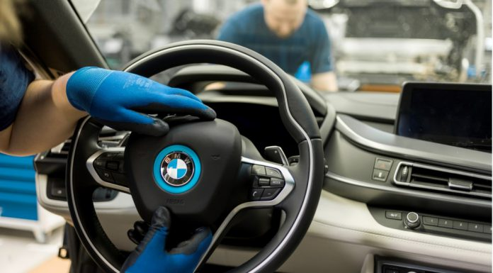 Behind Production of the BMW i8 Hybrid Sports Car