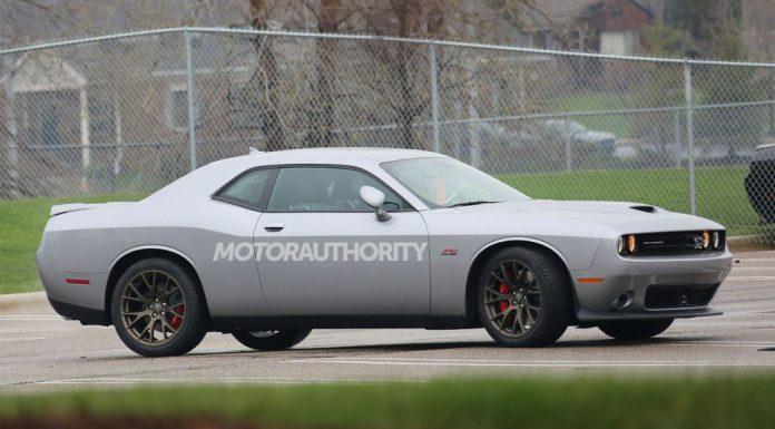 2015 Dodge Challenger SRT Spied Undisguised
