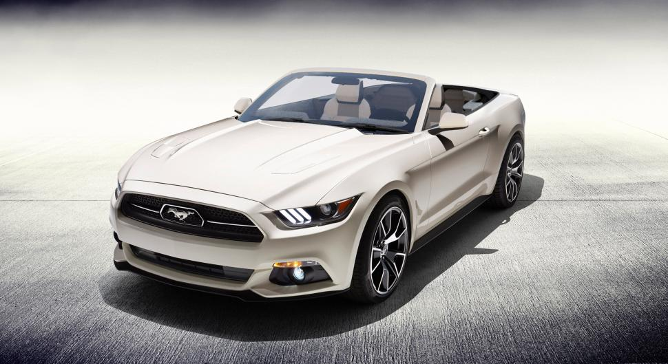 One-off Ford Mustang 50 Years Convertible Being Auctioned for Charity