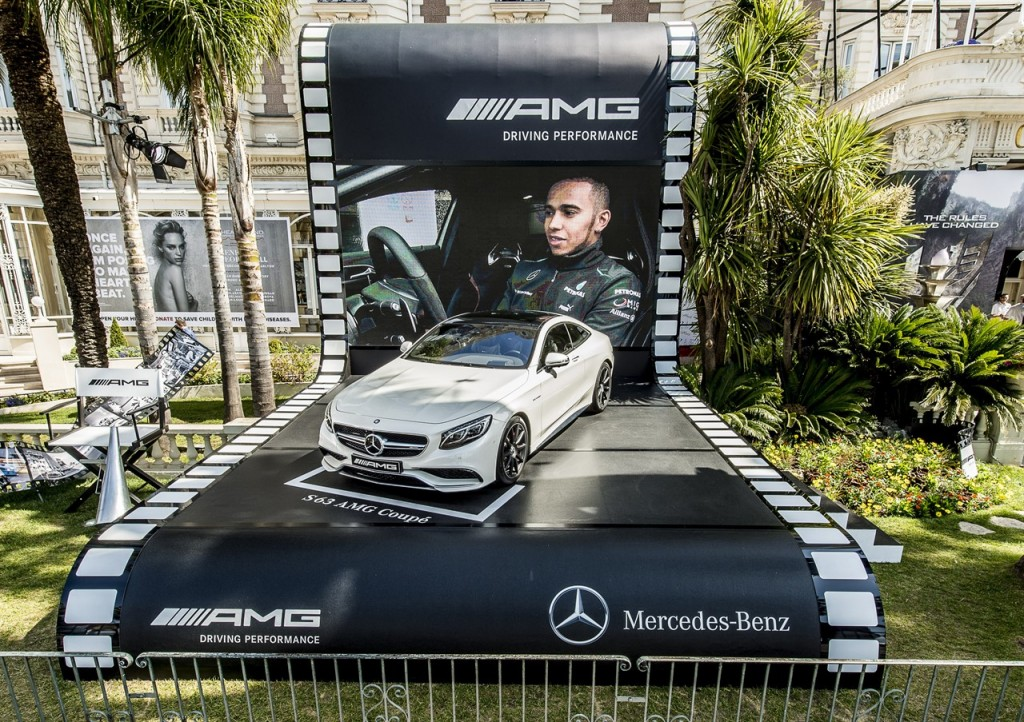 Mercedes-Benz S 63 AMG Coupe Being Auctioned at Cannes