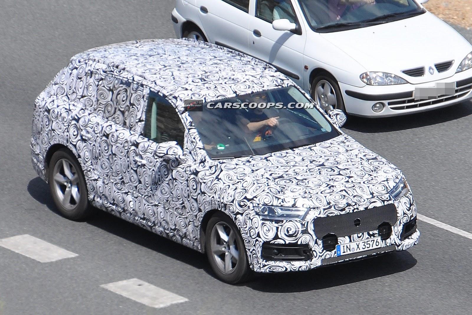 Lightweight Next-Generation Audi Q7 Spied Testing