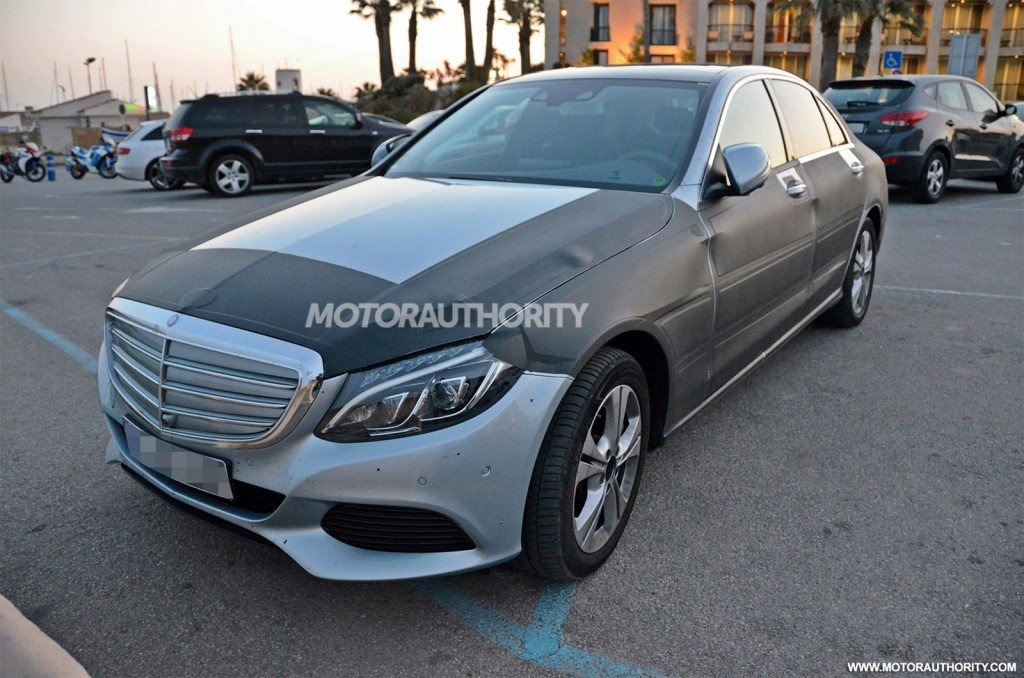 2016 mercedes benz c class plug in hybrid snapped gtspirit for Mercedes benz c class hybrid