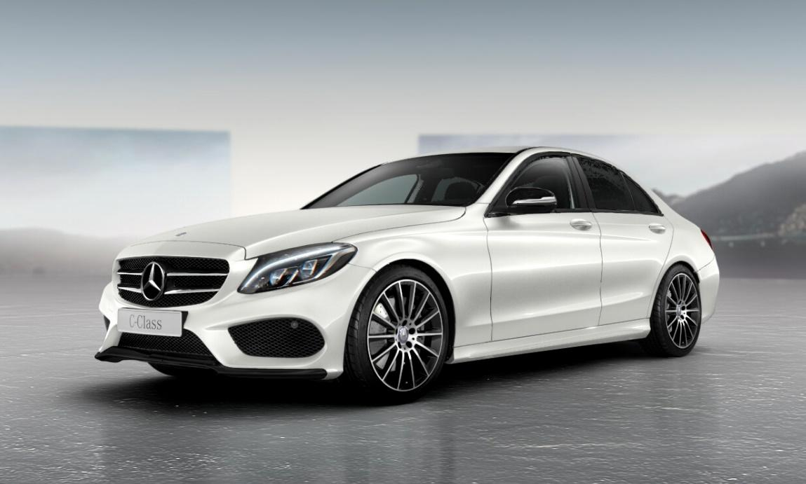 Official mercedes benz c class night package gtspirit for Mercedes benz packages