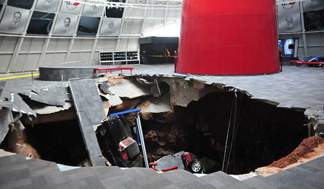 Sinkhole may be saved as cherished part of Corvette history...