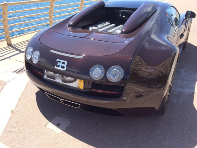 Brown Carbon Bugatti Veyron Grand Sport Vitesse For Sale