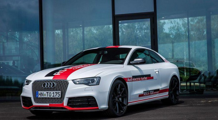 Official: Audi RS5 TDI Concept