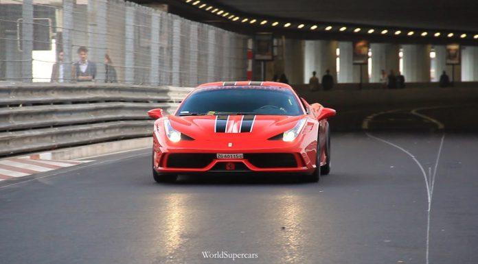 Super Loud Ferrari 458 Speciale with Capristo Exhaust