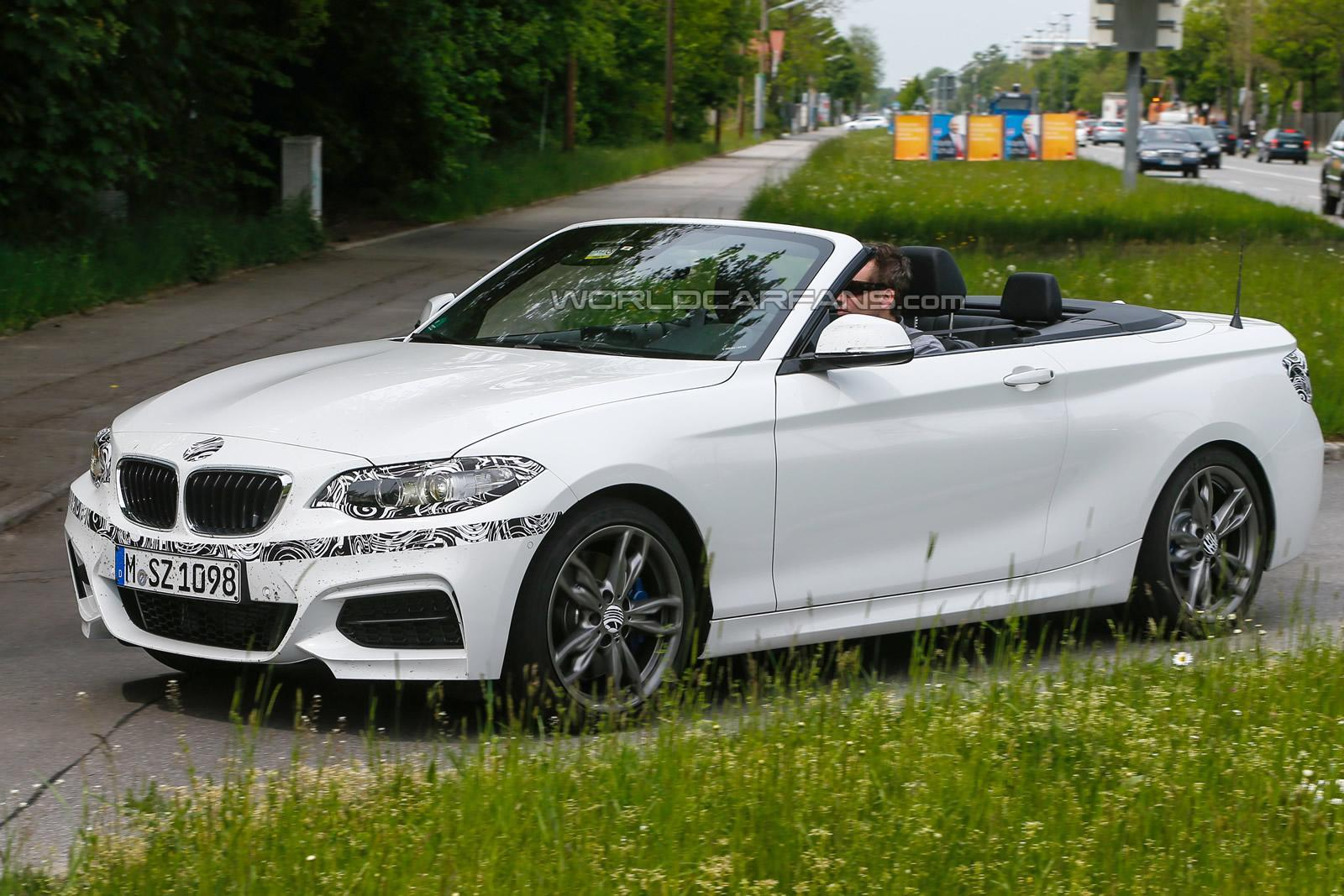bmw 2 series cabriolet tests with little camo gtspirit. Black Bedroom Furniture Sets. Home Design Ideas