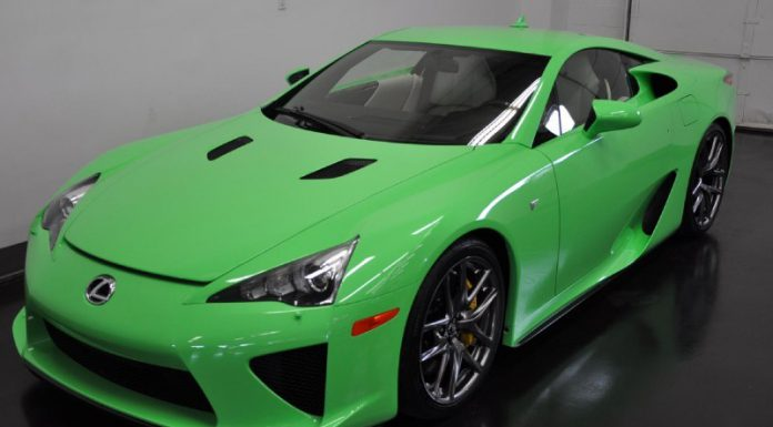 Unique Green Lexus LFA For Sale