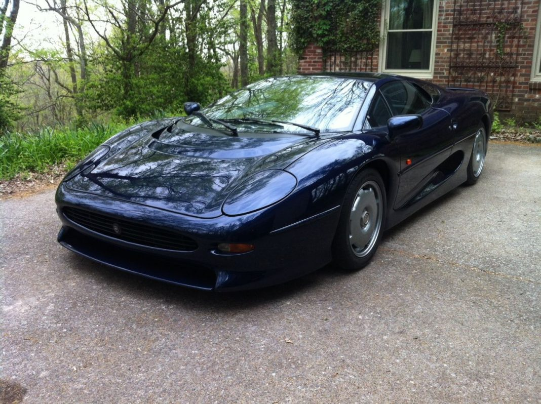 Last Jaguar XJ220 Made Up For Sale
