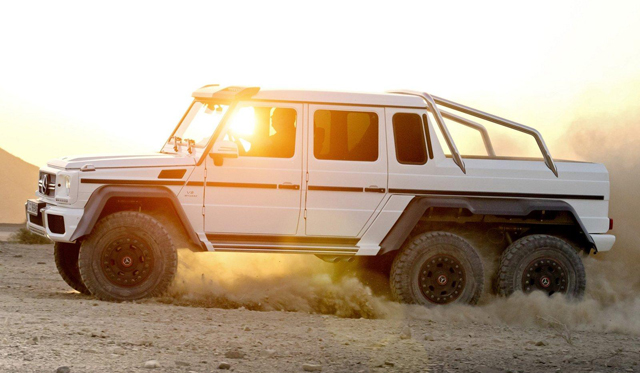 Mercedes G63 AMG 6x6 Gets Price Hike But Receives Heated Windscreen and More