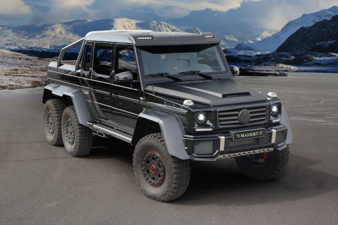 Official: Mansory G 63 AMG 6x6