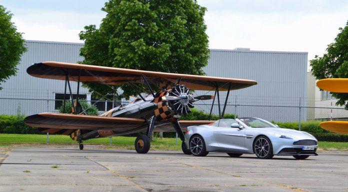 Aston Martin Photoshoot at Lelystad Airport