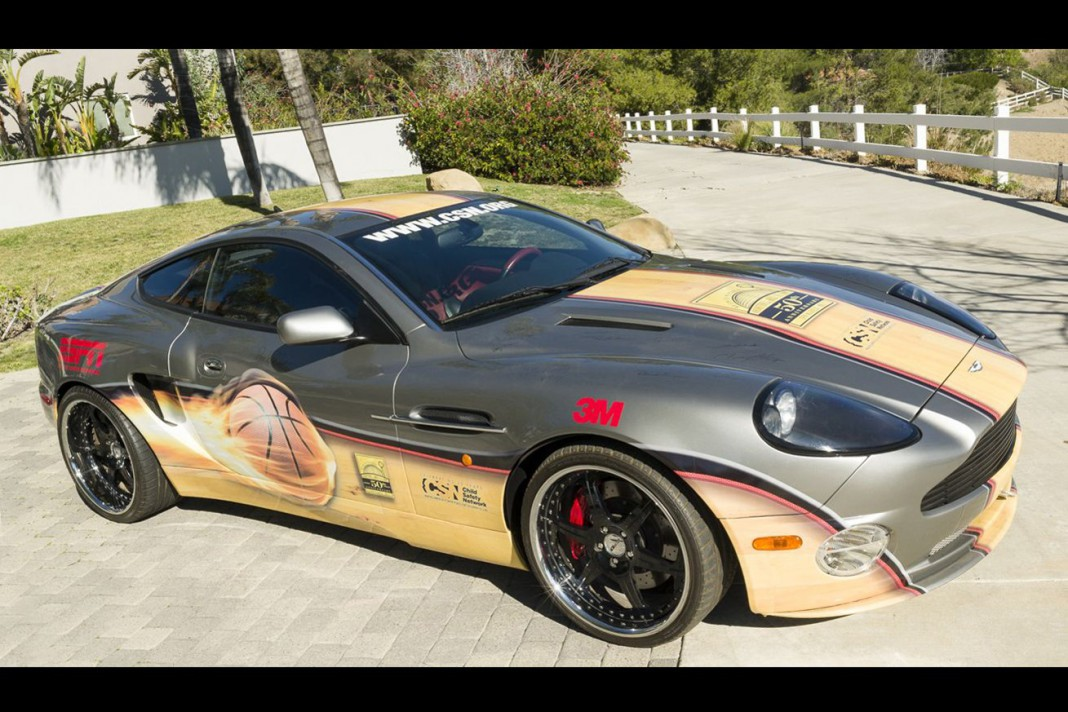 Aston Martin Vanquish Signed by 50 NBA Legends For Sale