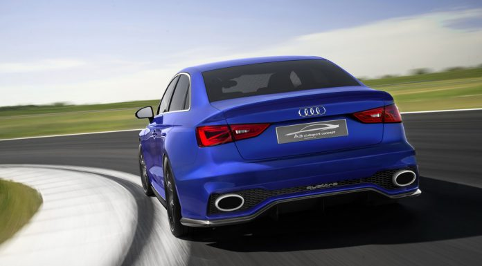 Video: Audi A3 Clubsport Quattro Concept Showcases Huge Air Brake!