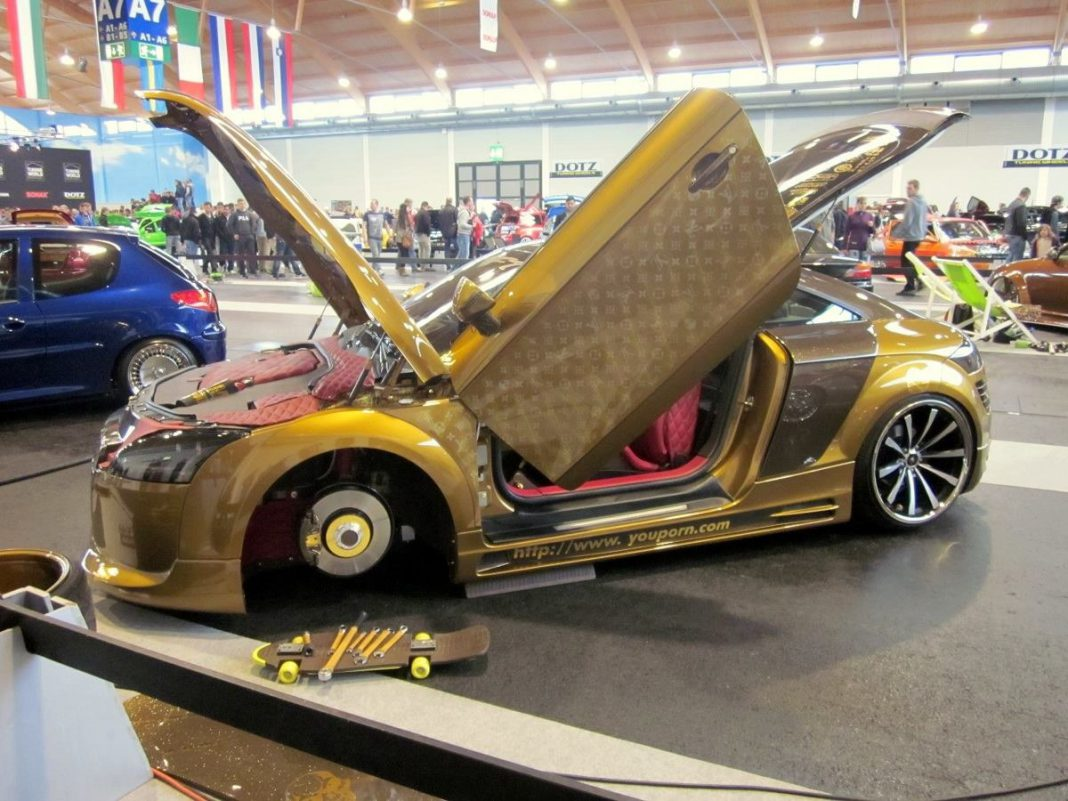Overkill: Louis Vuitton Inspired Audi TT From Germany