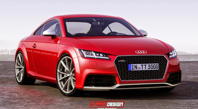 Updated Audi TT RS Rendered