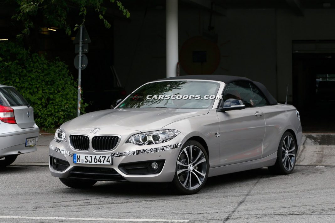 BMW 2-Series Snapped Again Prior to Upcoming Launch