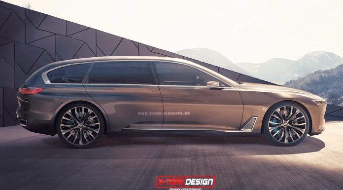 BMW Vision Future Concept Rendered as Estate