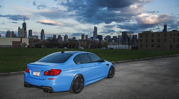 Yas Marina Blue BMW F10 M5 by IND