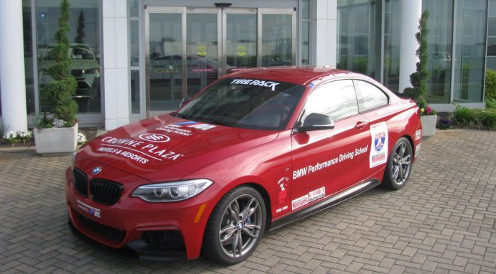 Stock BMW M235i Competing in One Lap of America