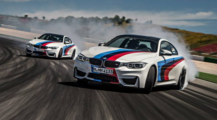 bmw m4 coupes drifting at portimao circuit gtspirit. Black Bedroom Furniture Sets. Home Design Ideas