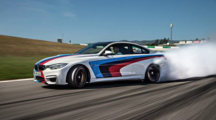 BMW M4 Coupe Drifting