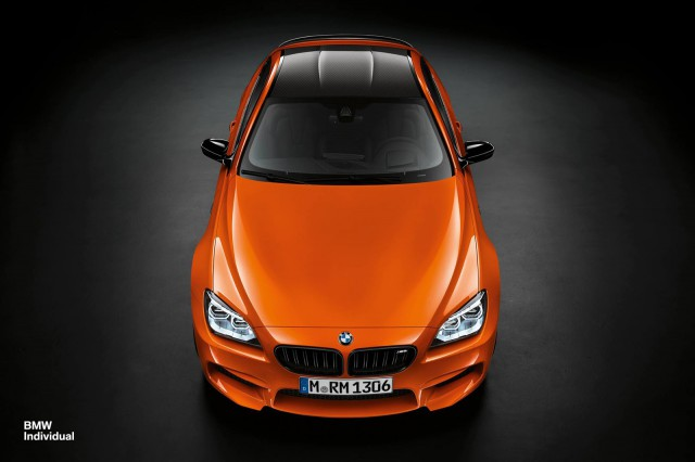 Stunning One-off Fire Orange BMW M6 Coupe
