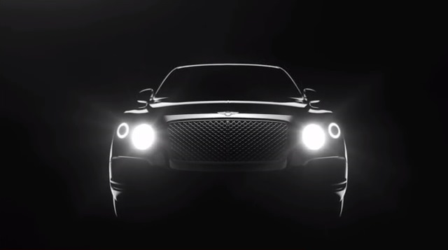 Video: Bentley Teases New SUV