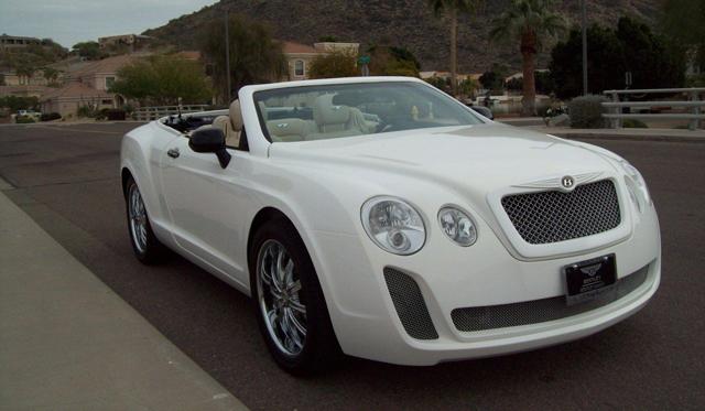 Overkill: Chrysler Sebring based Bentley Continental GTC