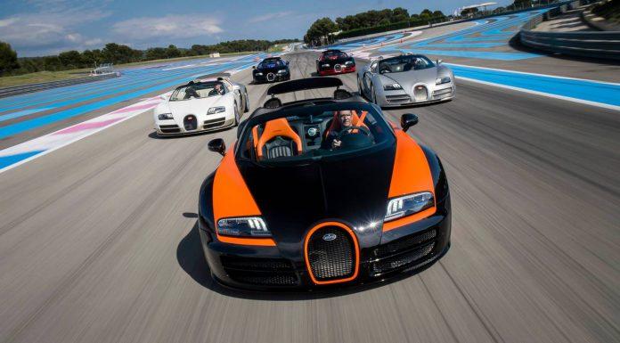 Bugatti Driving Event at Paul Ricard