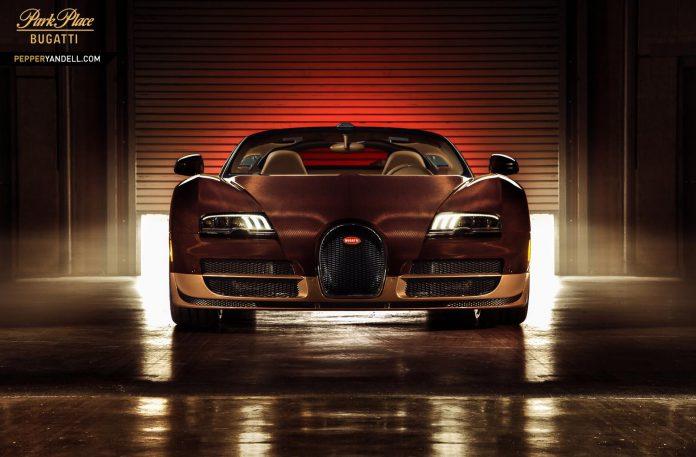 Bugatti Veyron Grand Sport Vitesse Rembrandt Photoshoot