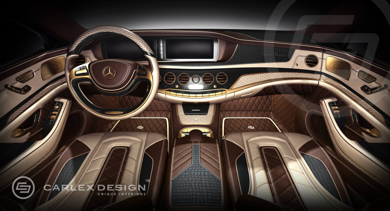 Official mercedes benz s class by carlex design gtspirit for Mercedes benz design