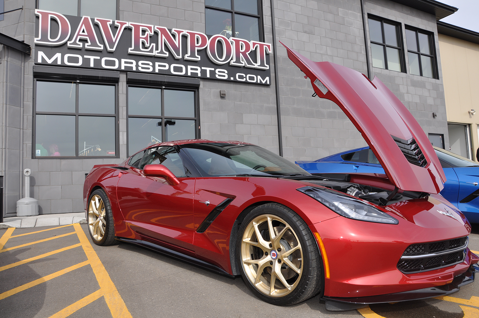Recently Davenport Motorsports Held An Open House To Showcase Their State Of The Art And Allow Customers Fans Get A Glimpse
