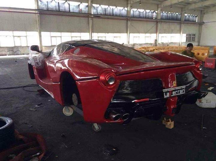 LaFerrari and Pagani Zonda R Replica in China - GTspirit