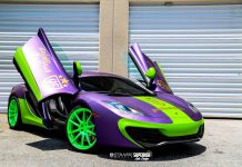 McLaren 12C Wrapped for goldRush Rally 6