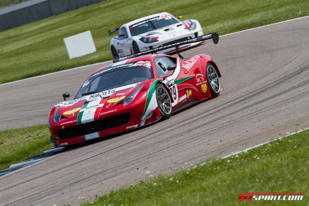 British GT Rocks at Rockingham