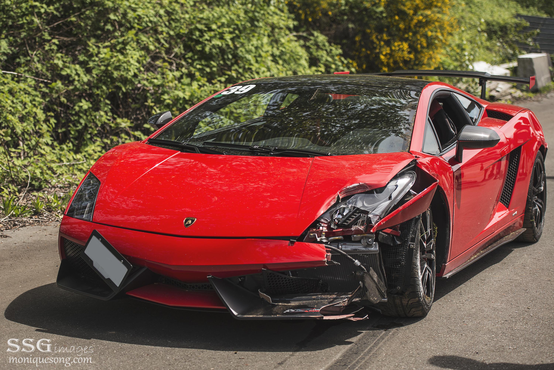 Lamborghini Gallardo Super Trofeo Stradale Crashes At Mission