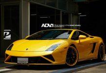 ADV.1 Wheels Creates Bumblee Inspired 2013 Lamborghini Gallardo!