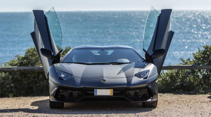 Grigio Lamborghini Aventador 50th Anniversary from Portugal