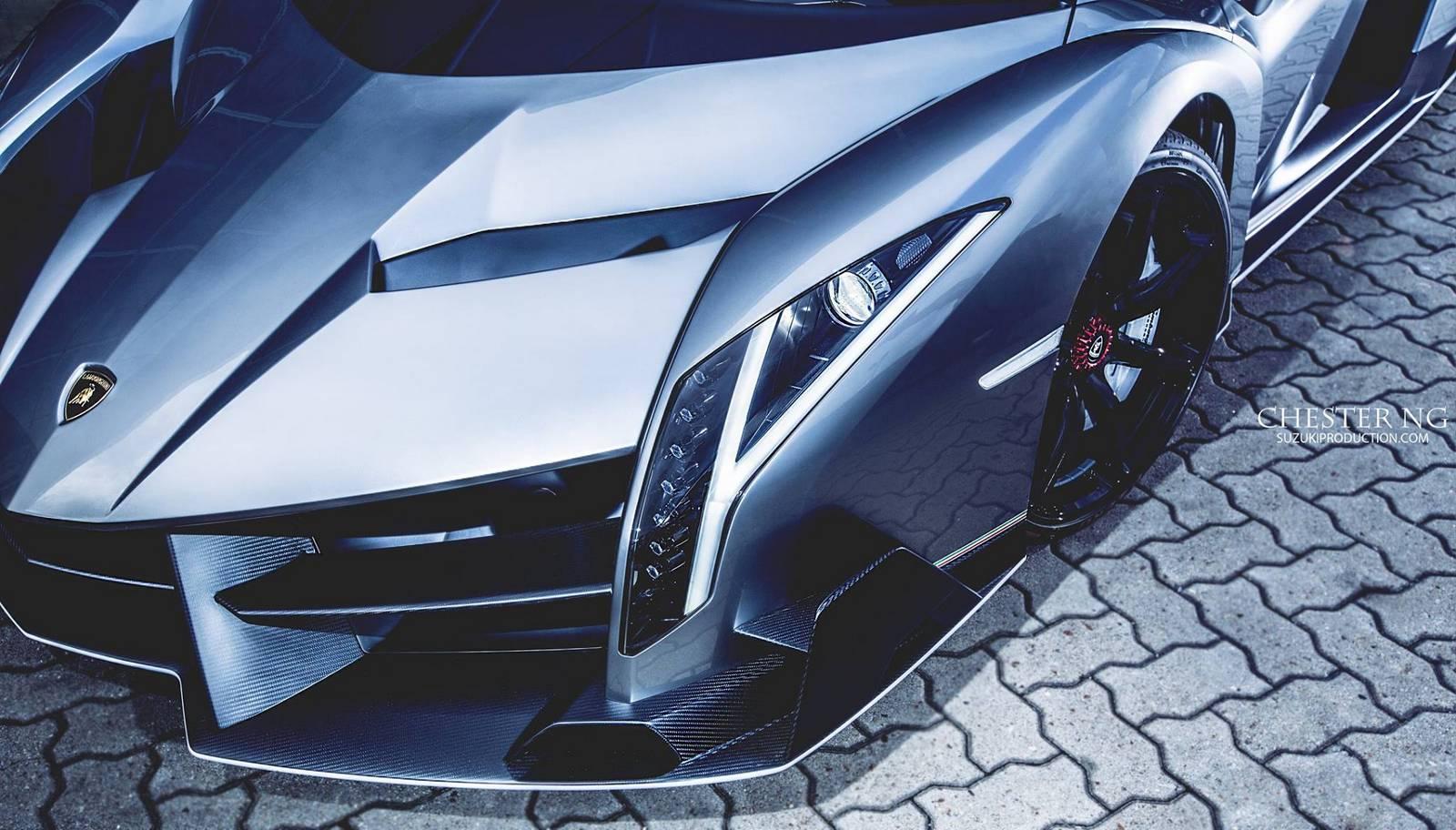 Lamborghini Veneno Coupe. 2014 год