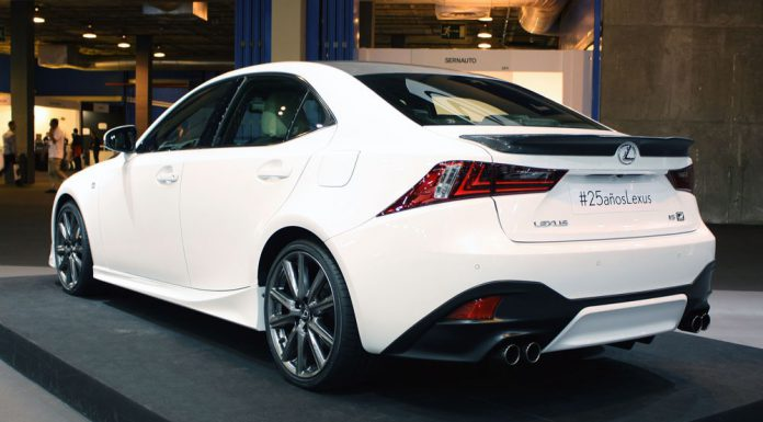 Official: Lexus IS F-Sport 25th Anniversary Edition