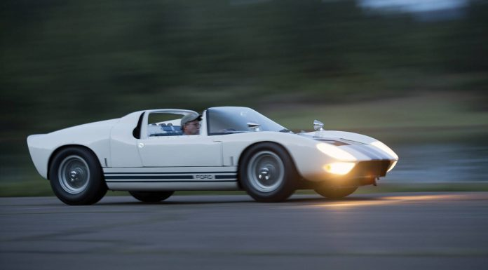 Rare Ford GT40 Roadster Prototype to be Auctioned