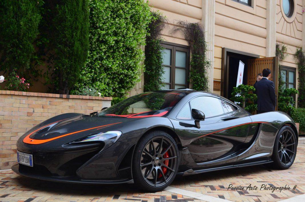 MSO McLaren P1 in Monaco